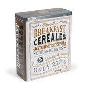 Breakfast cornflakes bewaardoos