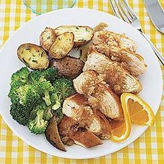 Orange and Balsamic Chicken Breasts Recipe   MyRecipes.com