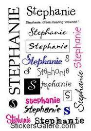 Stephanie usernames