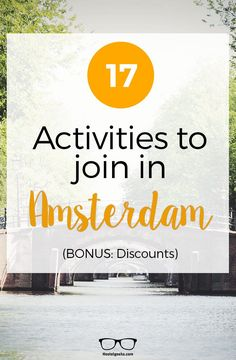 This is your super handy guide for everything you need to know for having fun in Amsterdam.Find the Best Things to do in Amsterdam at https://hostelgeeks.com/18-fun-things-to-do-amsterdam/ #travel #secrettipsamsterdam #traveltipsamsterdam #travelguideamsterdam