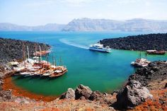 Santorini, Viking Ocean Cruise, Luxury Cruise Lines, Celebrity Cruises, Oh The Places You'll Go, Hot Springs, Tour Guide, The Locals, Tours