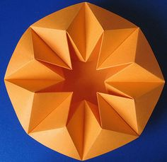 Origami Vase - Octagon Bowl, design and photo by @Francesco Paladino Paladino Guarnieri.  If you repin, please keep the author/photographers name along with this pin!