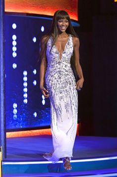 Celebritie Naomi Campbell by Roberto Cavalli