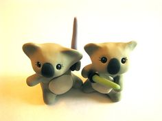 Koalas. With Lightsabers. As cake toppers. What more is there to say?