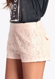 Love And Lace Shorts 39.00 at threadsence.com
