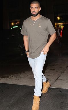 Be like Drake: Shop now and get these Timberland Boots for 20% via www.timberland.com. OVO shirt can be purchased via www.octobersveryown.com . #Drake #YMCMB #OVO #6God