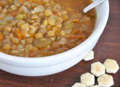 Are you a lentil lover?   If so Greek Lentil Soup is for you!