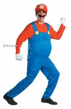 Superb Deluxe Mario Costume