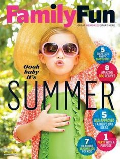 Family Fun Magazine June/July 2016 Amazing BBQ Recipes Beach Reads For Kids NEW #Meredith
