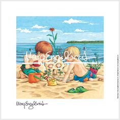 """Beach Boys"" Fine Print"