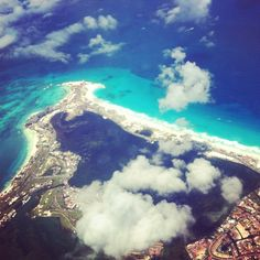 Cancun from above...what a magical place!