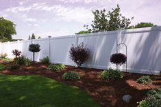 Bufftech New Lexington Vinyl Privacy Fence - Contemporary - Fencing - Other Metro - Vinyl Fence
