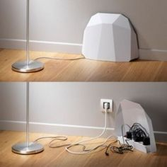 power-block excelente idea para ocultar los cables