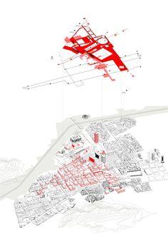 Medellin Civic Center, Columbia (Urban Projects Bureau) Urban Design Concept, Urban Design Diagram, Urban Design Plan, Urban Architecture, Architecture Mapping, Architecture Panel, Architecture Graphics, Site Analysis Architecture, Architecture Presentation Board