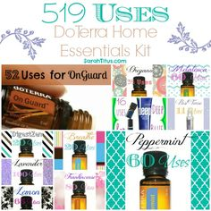 519 Ways to Use the Home Essentials Kit {DoTerra} - Sarah Titus ~ Saving Money Never Goes Out of Style
