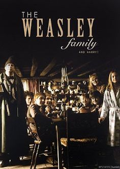 Weasley Family with Harry