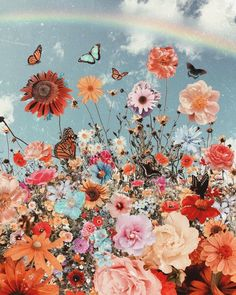 Flowers Discover Autumn Hues a map of dreams Prints a map of dreams Butterfly Wallpaper Iphone, Iphone Background Wallpaper, Retro Wallpaper, Flower Wallpaper, Spring Aesthetic, Flower Aesthetic, Aesthetic Art, Aesthetic Pastel, Aesthetic Vintage