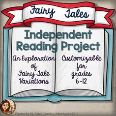 Fairy Tales are a fun way to engage students in analysis of fictional texts. These sheets include graphic organizers and reader response sheets.  I have also the initial assignment handout.  There are suggested writing prompts and a rubric for an analysis paper.Use all of the resources or some to customize to the needs of your students.