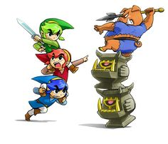 The Legend of Zelda Tri-Force Heroes