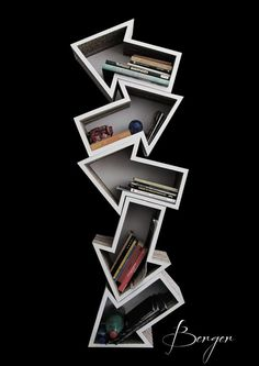 Wonderful Arrow Shape Shelves