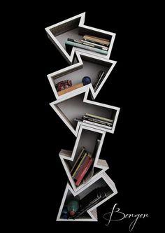 Wonderful Arrow Shape Shelves