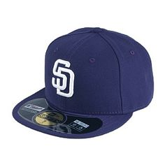 New Era 59FIFTY San Diego Padres Baseball Cap - On Field - Game 79053925097e