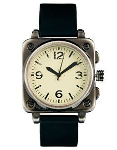 ASOS Watch With Distressed Face