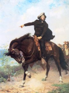 General Sam Houston at...  by S Seymour Thomas   Giclee Canvas Print Repro in Art, Art from Dealers & Resellers, Prints | eBay