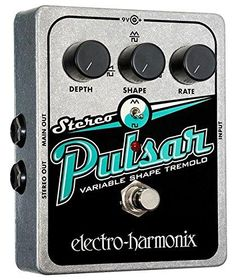 Great Prices For Great Guitar Stuff! Electro Harmonix ... check it out @ http://guitarisms.com/products/electro-harmonix-stereo-pulsar-pedal-for-electric-guitar-silver?utm_campaign=social_autopilot&utm_source=pin&utm_medium=pin