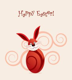 """Happy Easter Vector"", vector graphic by DryIcons.com - available with Free, Commercial and Extended License."