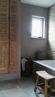 Bathroom rustic Sober stoer landelijk wonen | New home - Bathrooms ...