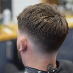 Foto av bird co barbershop den 14 mars 2017 kl 21 44 11 best hair clays for men Cool Haircuts, Haircuts For Men, Short Hair Cuts, Short Hair Styles, Low Fade Haircut, Gents Hair Style, Faded Hair, Hair And Beard Styles, Hairstyles Haircuts