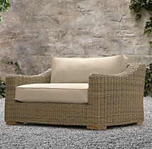 Provence Luxe Chair-and-a-Half Cushions