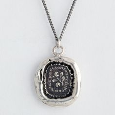 Live for Today Talisman Necklace...a reminder to live in the moment. One of my favorite ones yet (I may need several at this rate!).