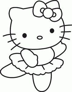 Resultado de imagem para desenho de imprimir da hello kitty