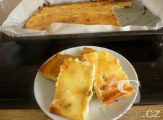 Tvarožník. Recept na tvarohový koláč, který je snadný, rychlý a ani trochu suchý. Ethnic Recipes, Food, Eten, Meals, Diet