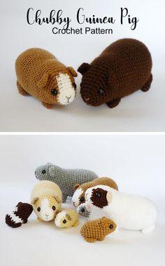 My example piggies are Easy Crochet Animals, Crochet Animal Patterns, Stuffed Animal Patterns, Crochet Patterns Amigurumi, Crochet Dolls, Knitting Patterns, Crochet Stuffed Animals, Crochet Kawaii, Crochet Diy