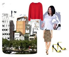Office wear by mukta-sharma-chauhan on Polyvore featuring MANGO, Grace Elements and ALDO