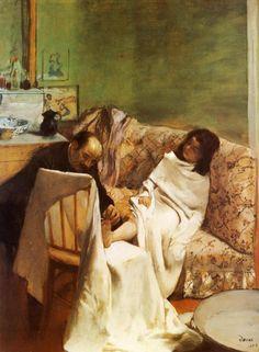 Edgar Degas, Le pédicure [1873]