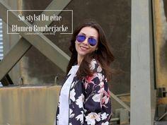 CASTLEMAKER Lifestyle-Blog - Outfit: Blumen Bomberjacke, Ray Ban Aviator & neue Tasche - CASTLEMAKER Lifestyle-Blog Fashionblogger