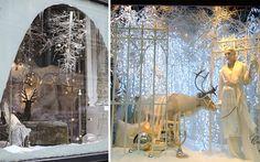 Decofilia te enseña originales ideas para decorar escaparates en invierno, Todo un mundo de posibilidades que llamarán la atención del público.