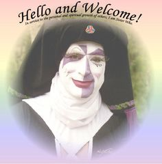 Sister Who welcomes you.