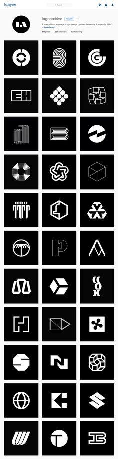 Les recomiendo ampliamente que sigan la cuenta de Instagram de Logoarchive, un proyecto curado por el diseñador inglés Richard Baird del sitio BP&O donderescata los mejoresisotipos y monogram…
