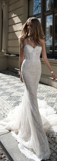 Oh my wow - this is the most exquisite gown from @bertabridal.