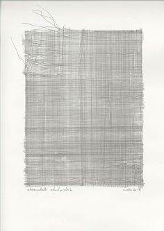 zahid mövla, cheesecloth study #2, pen on paper, 42 x 29.7 cm