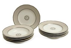 Plates & Soup Set, Service for 6 on One Kings Lane today