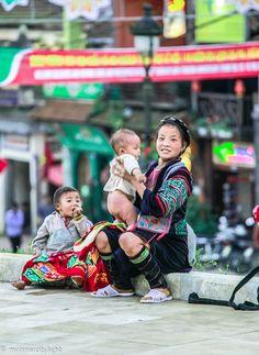 #sapa #vietnam #mother