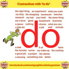 Contractions with 'do'