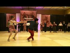 Boston Tea Party 2014 - Advanced Lindy Hop Finals - YouTube