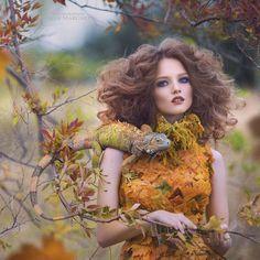 Russian Fairy Tales Translated into Fashion-Forward Portraits